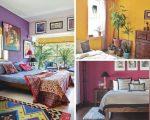 unique bedroom wall paint colours