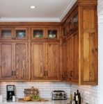 solid wood wall kitchen cabinet