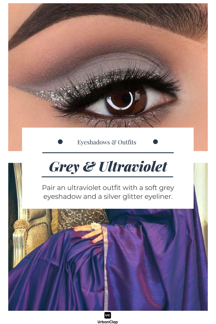 How To Match Your Eyeshadow Makeup With Any Indian Outfit The Urban Guide