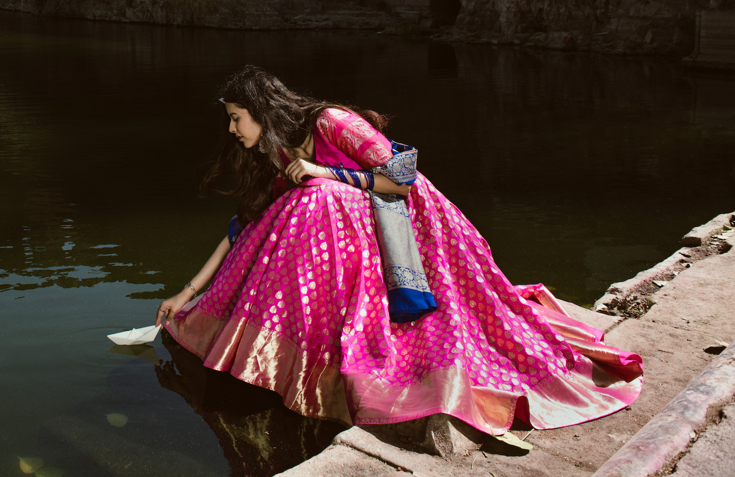 Banarasi Silk Lehengas That Every Bride Must See: Bageecha's 2018 Collection!