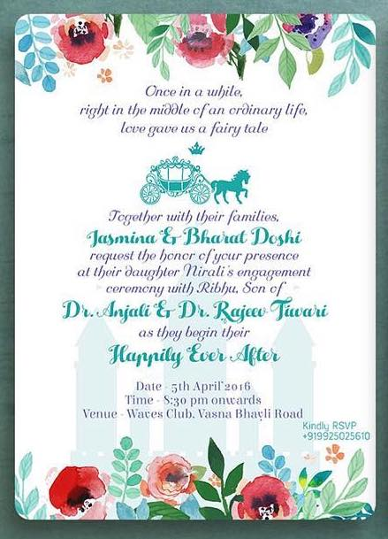 20 Engagement Invitation Message Wording Ideas To Make