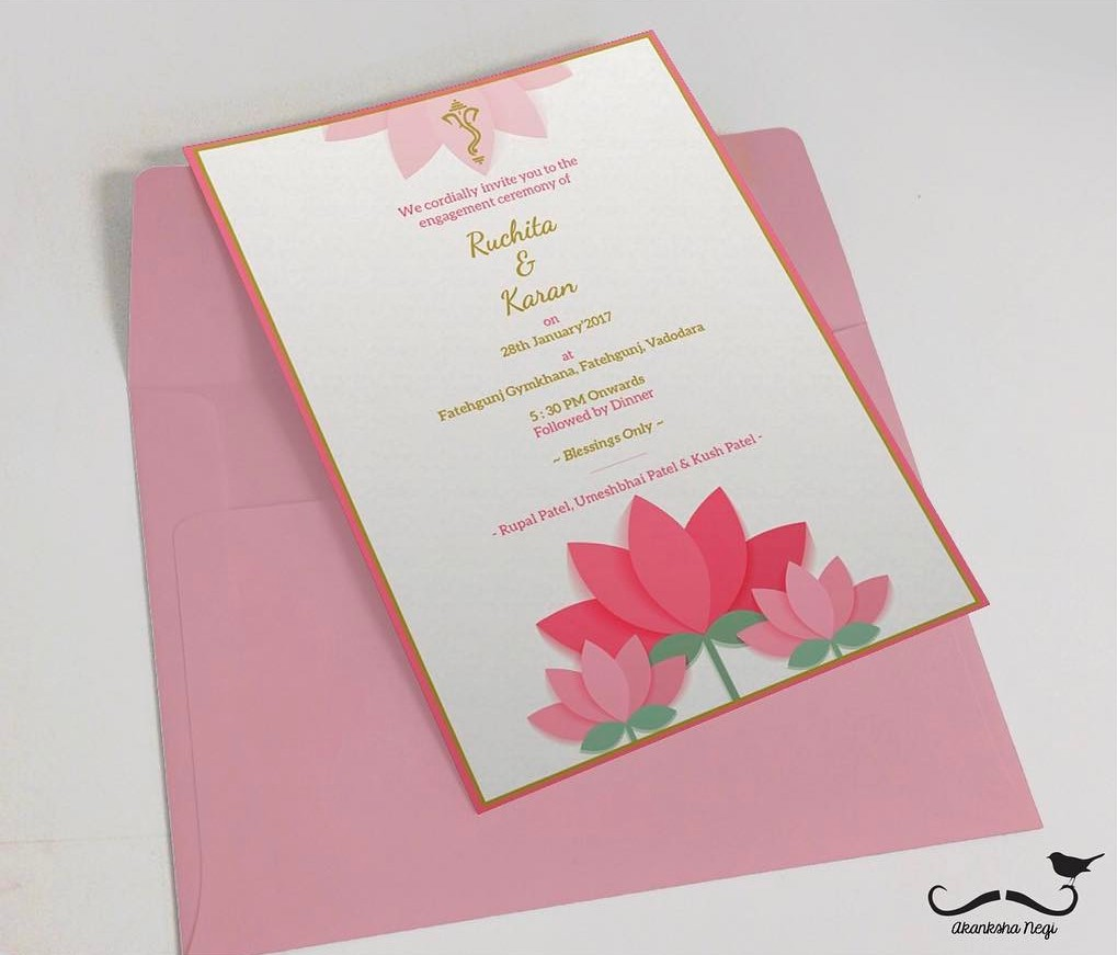 ceremony invitation message
