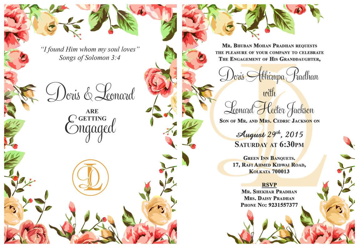 engagement invitation message wording ideas to make your own