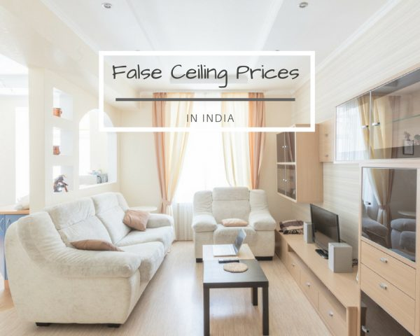 false ceiling cost in india featured image