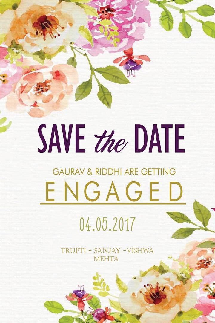 save the date wedding invitation wording idea