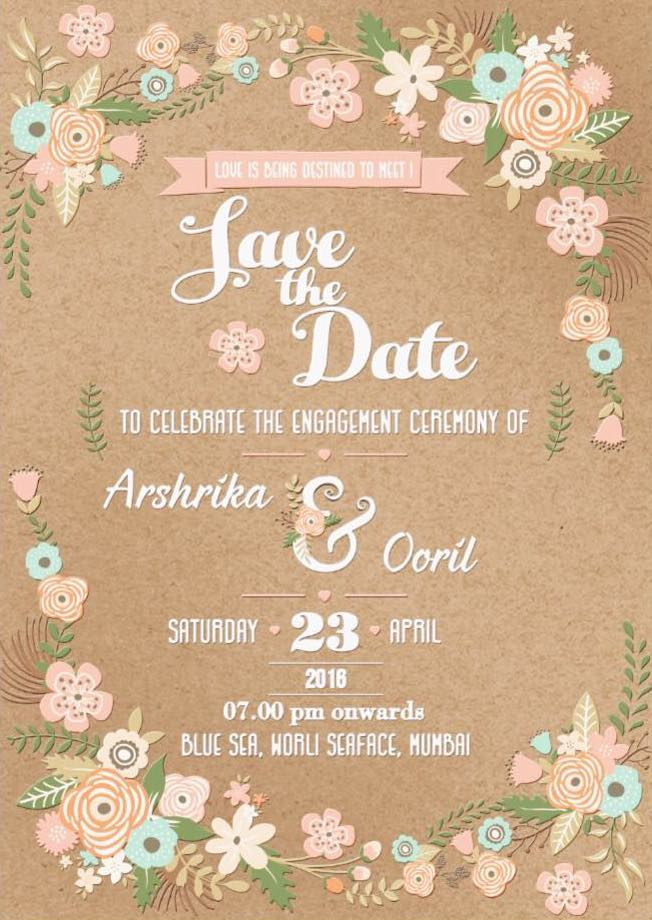 save the date wedding invitation wording