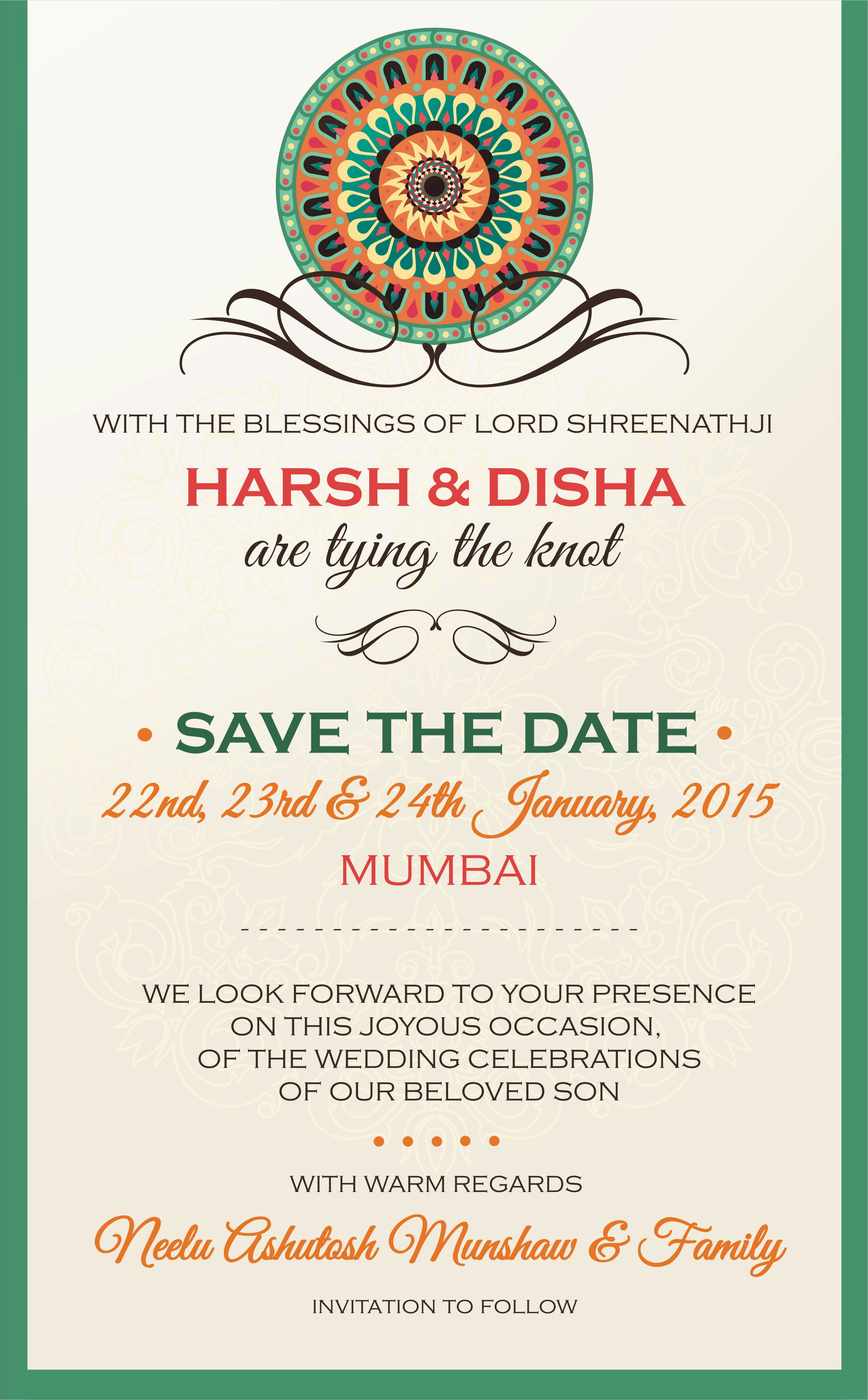 40 best save the date invites for your indian wedding unique