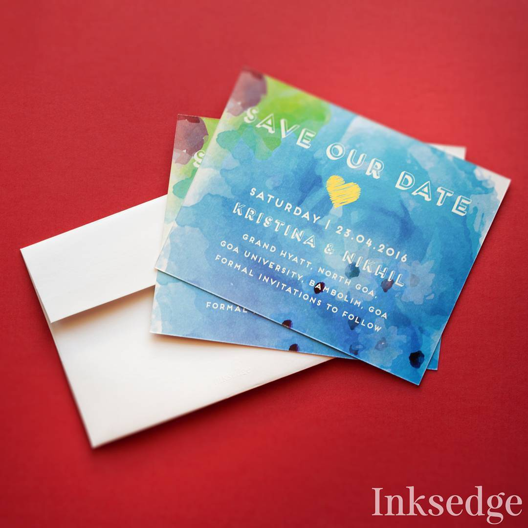 40+ Best Save The Date Invites for your Indian Wedding! Unique ...