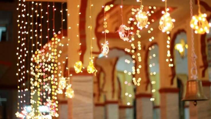 Image result for Decorative Lights during diwali