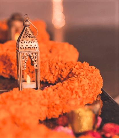 marigold diwali decoration ideas for home