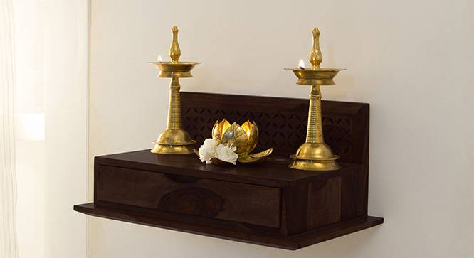 wall shelf small mandir design