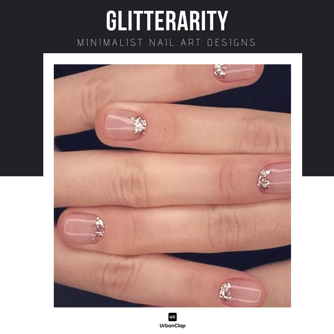 Minimalist nail art design 3