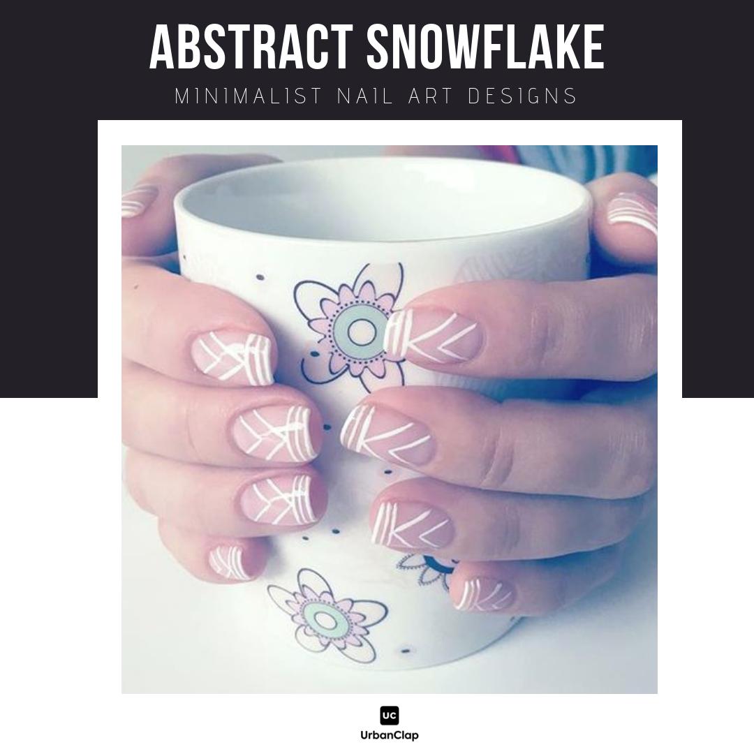 Minimalist nail art design 5