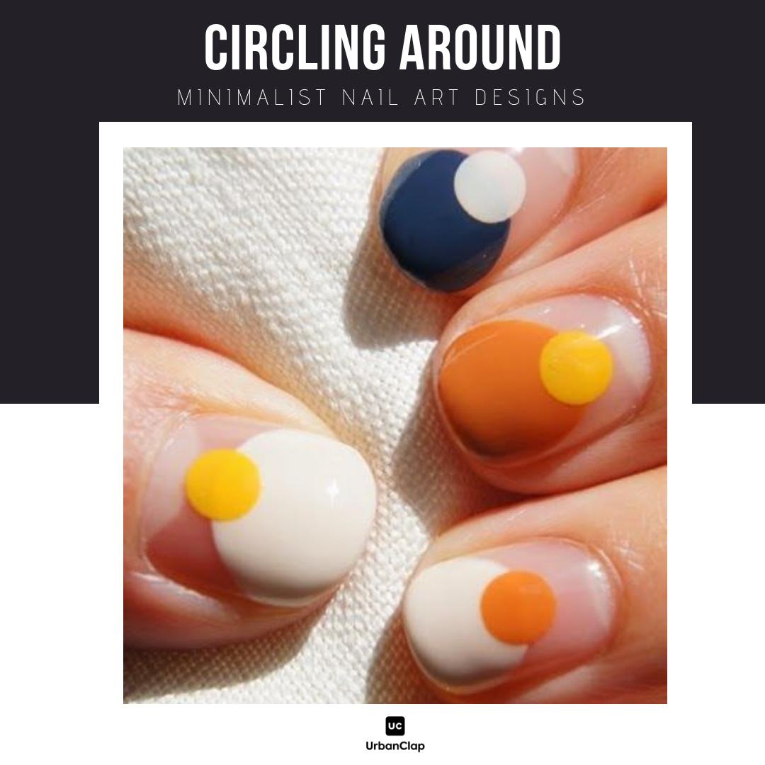 Minimalist nail art design 11