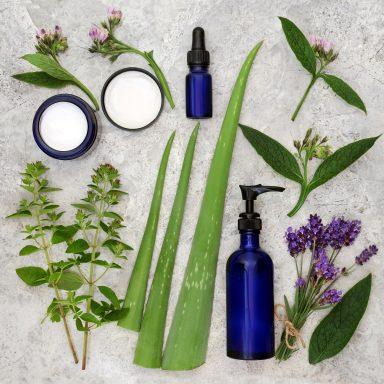 aloe vera and lavender oil