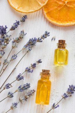 lemon and lavender oil
