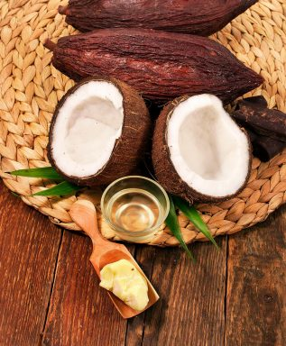 cocoa butter for hair