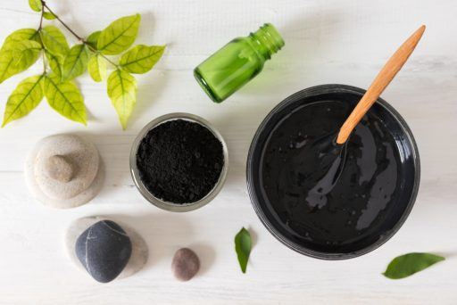 charcoal mask with tea tree oil