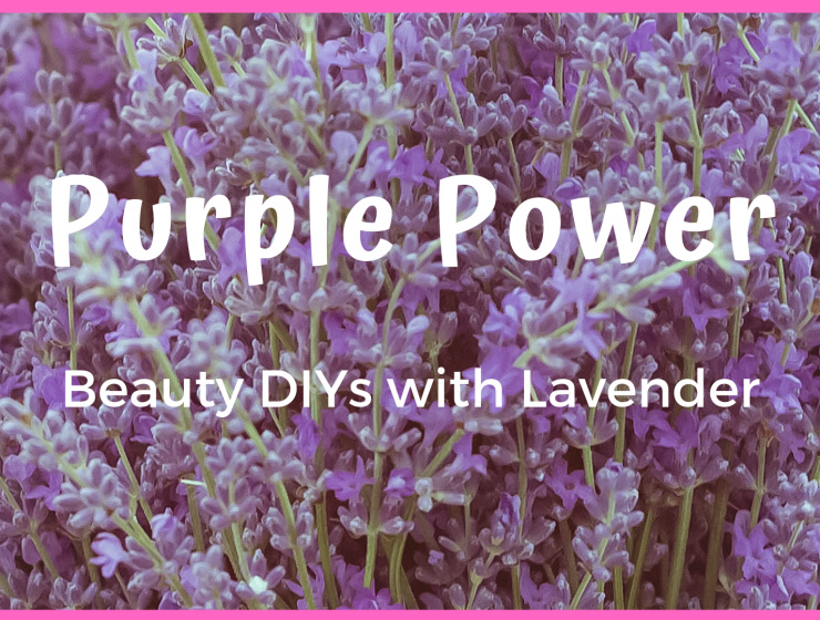 lavender oil for skincare