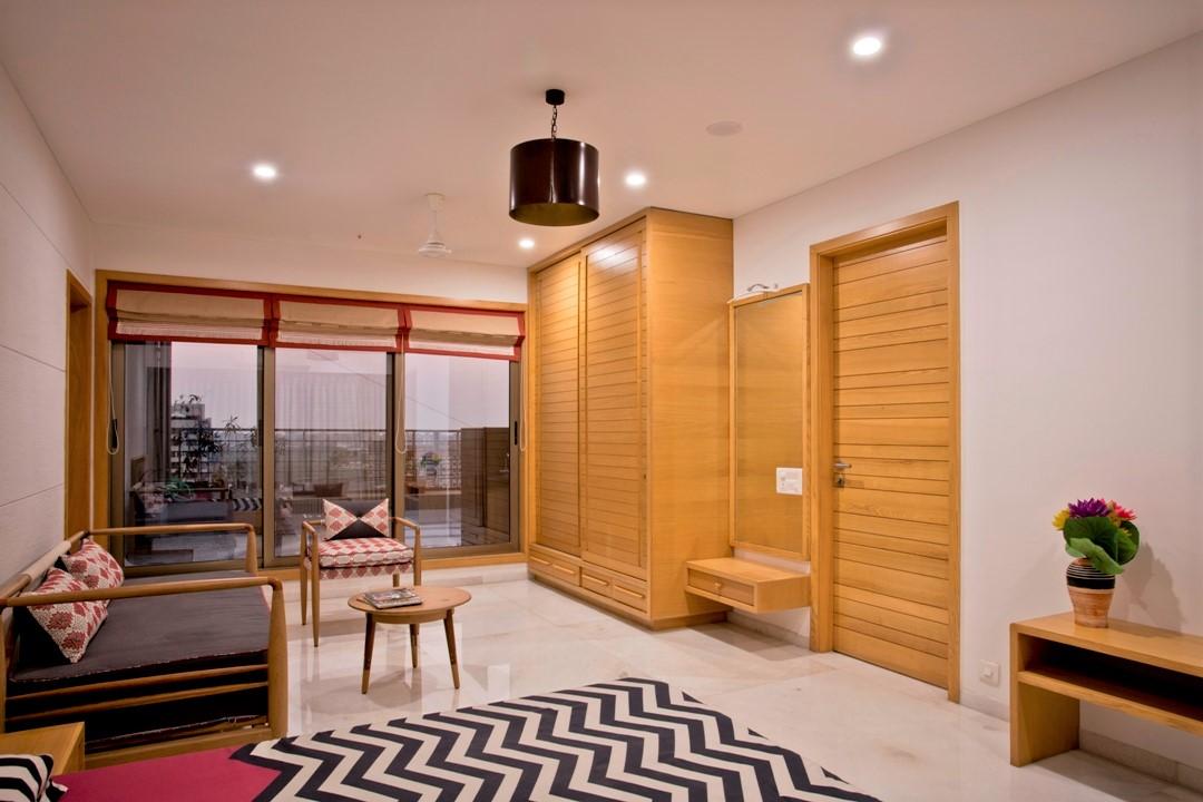 contemporary wooden wardrobe designs