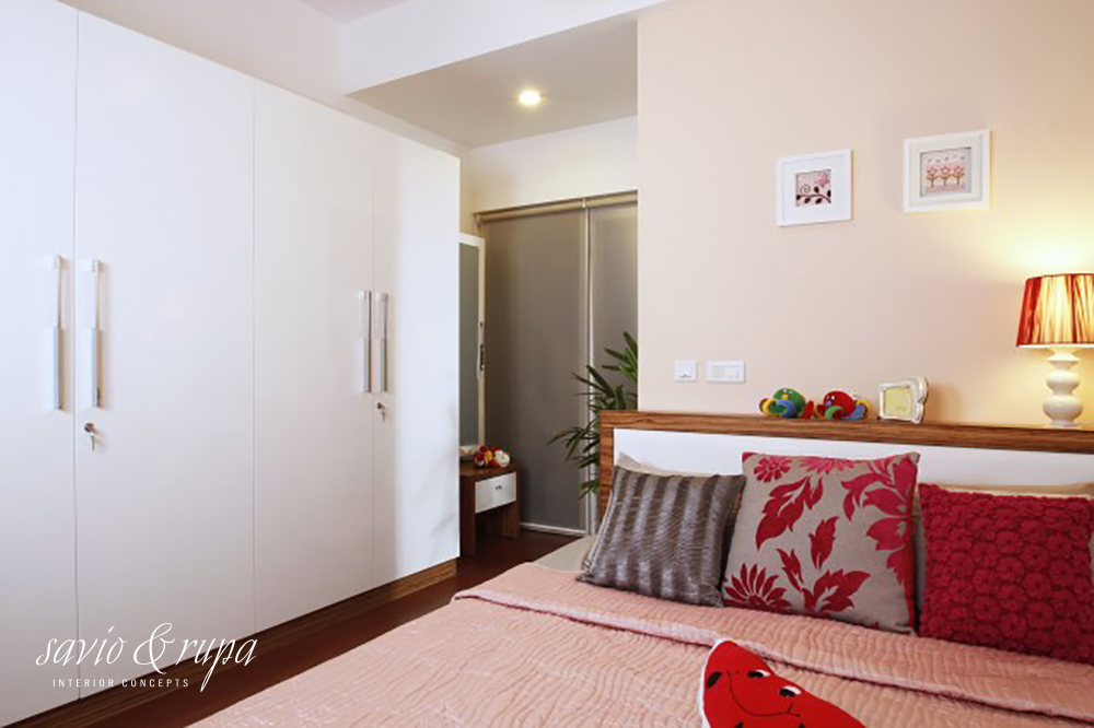 wardrobe designs in light colours for small bedrooms
