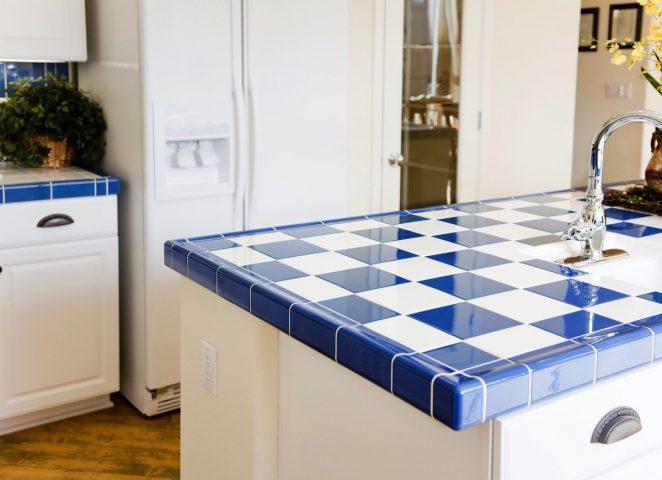 ceramic tile kitchen countertop materials