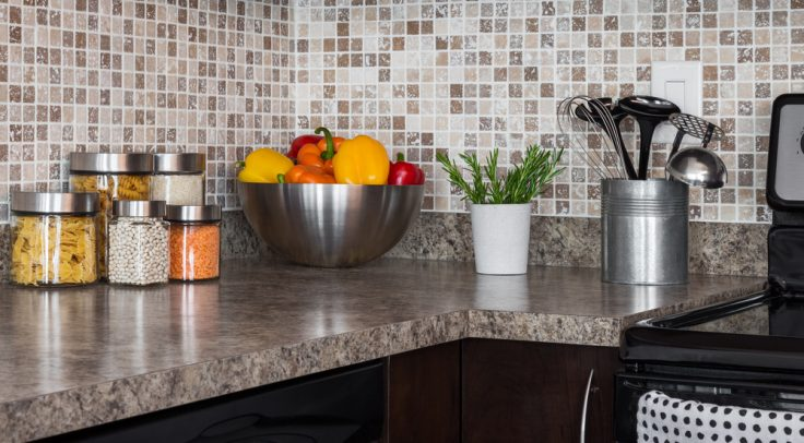 granite kitchen countertop materials