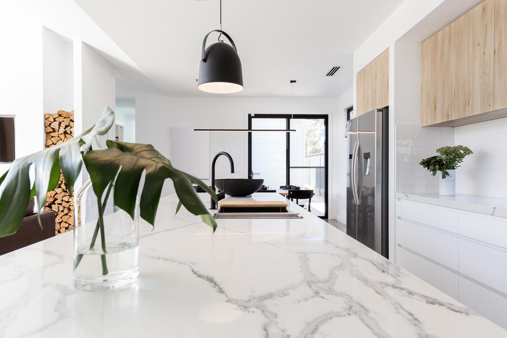 marble kitchen countertop materials