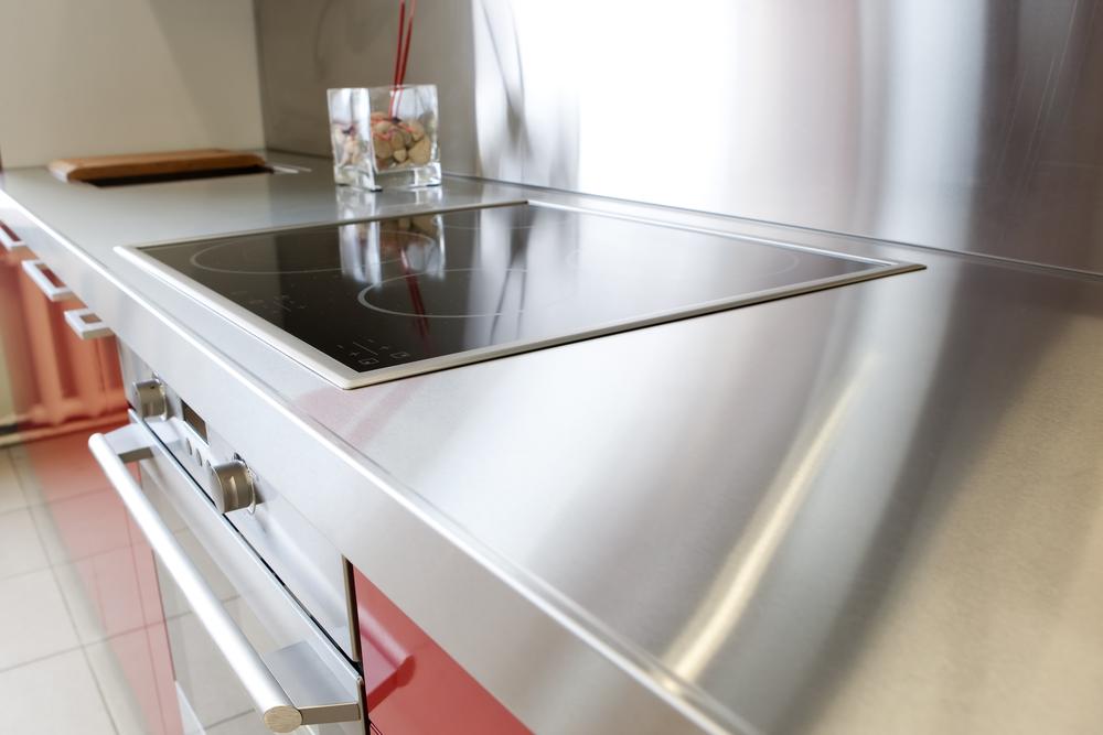 stainless steel kitchen countertop materials