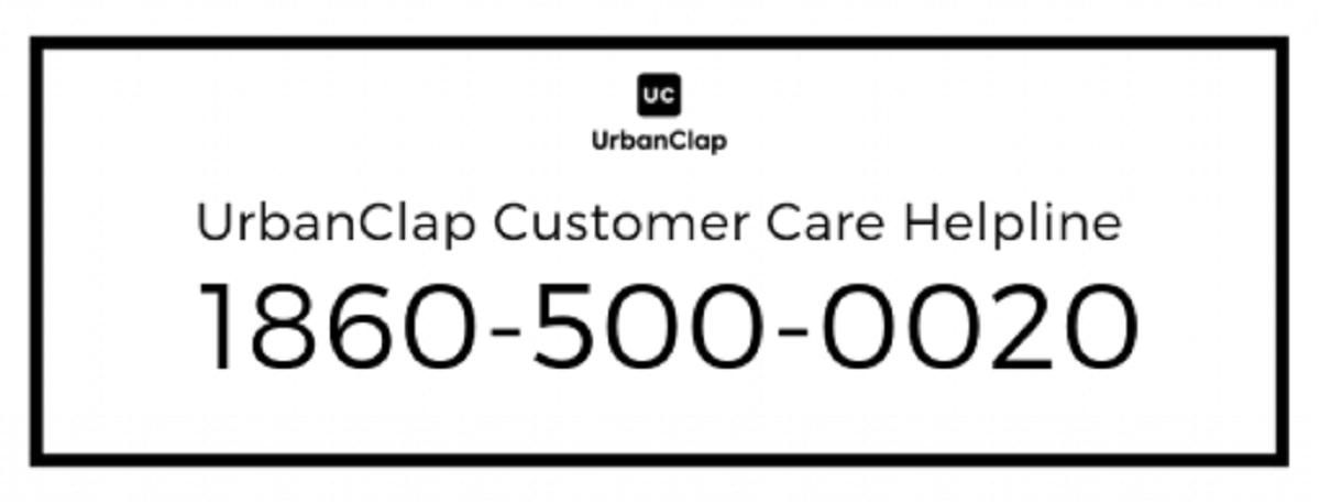 UrbanClap-Customer-Care-Helpline-Number