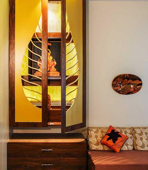wooden pooja mandir designs for homes