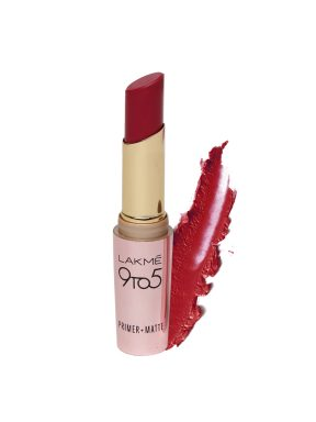 best-red lipstick-shades-lakme-9to5-maroon-mix
