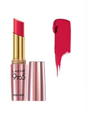 best-red lipstick-shades-lakme-9to5-ruby-rush
