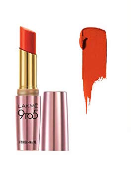 best-red lipstick-shades-lakme-9to5-red-rebel