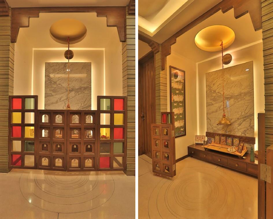 Doors Design: 20 Mandir Designs For Indian Homes