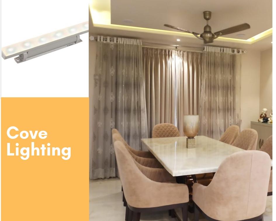 cove false ceiling lights