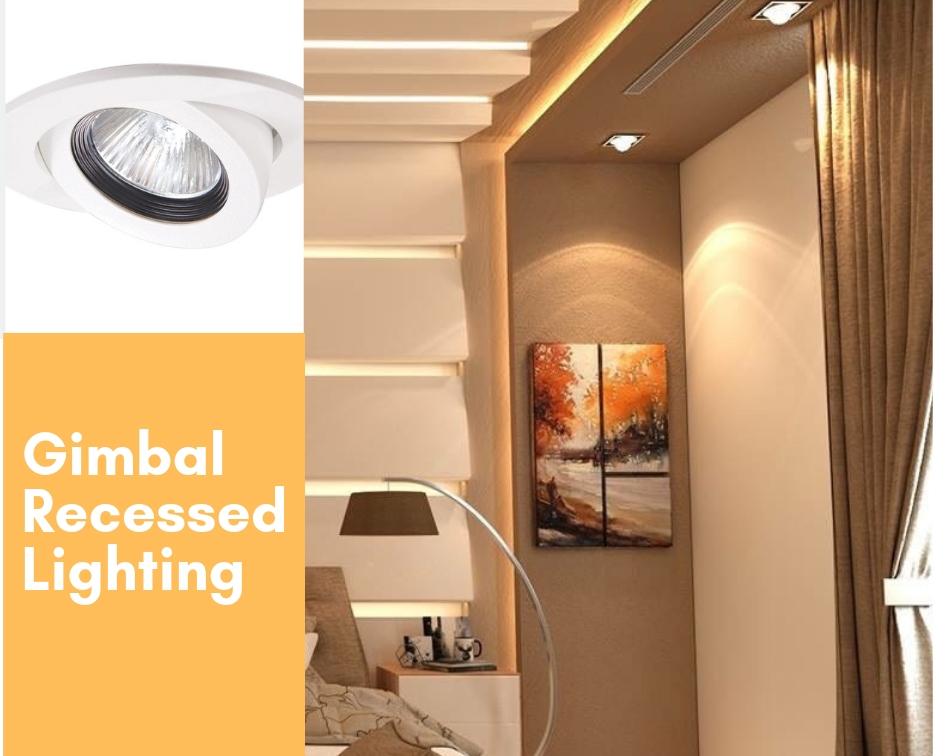 gimbal false ceiling lights
