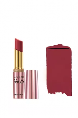 best-red-lipstick-for-dark-skin-Lakme-9-to-5-Berry-Base
