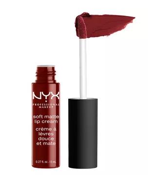 best-red-lipstick-for-dark-skin-NYX-Madrid