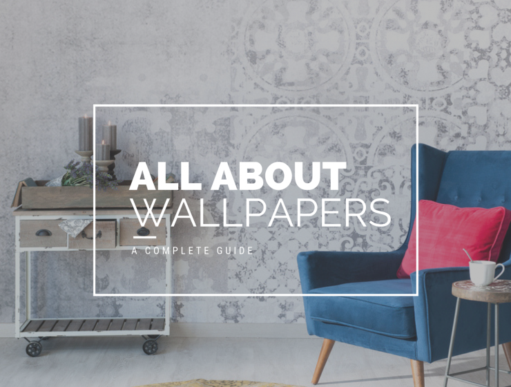 types of wallpaper india