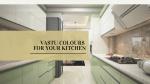 vastu colours for kitchens
