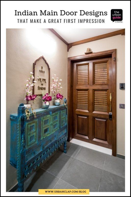 indian door design