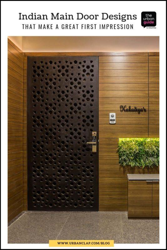 steel main door design in indian