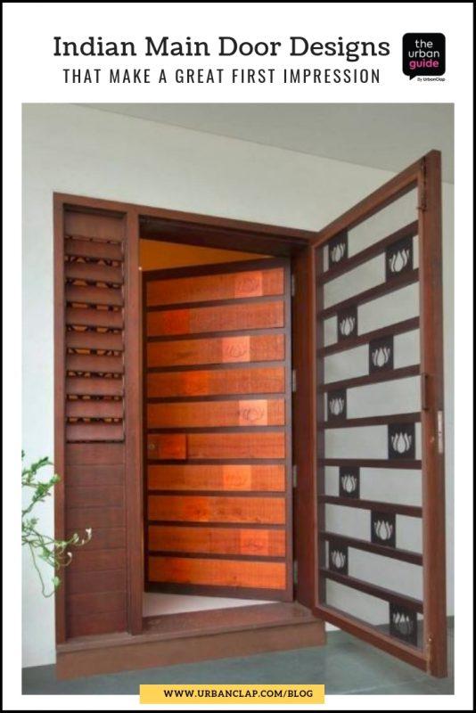 indian house door design