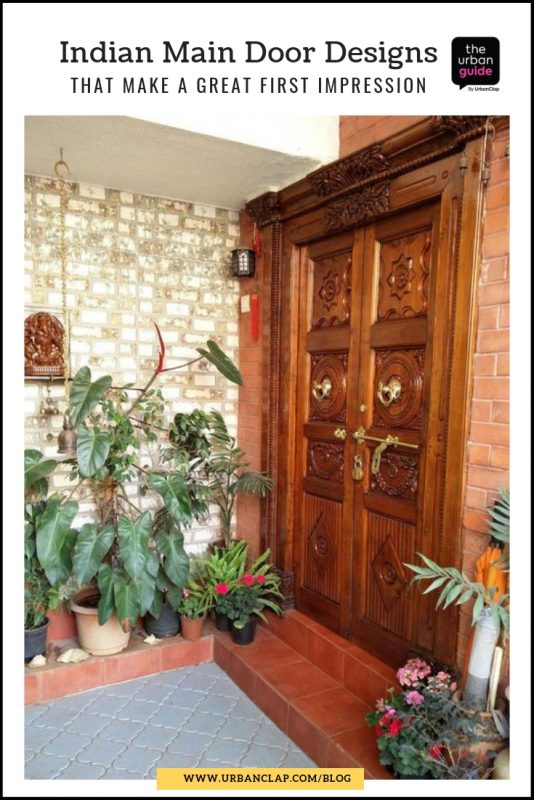 traditional south indian main door designs