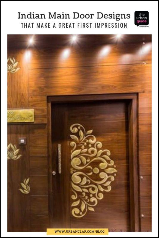 front door design in india