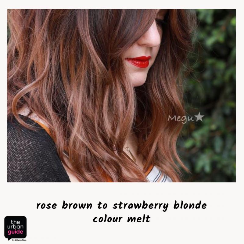 color melt blonde highlights