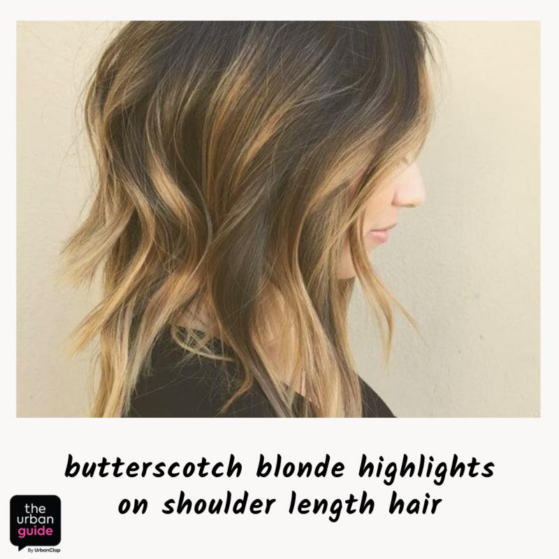butterscotch blonde highlights