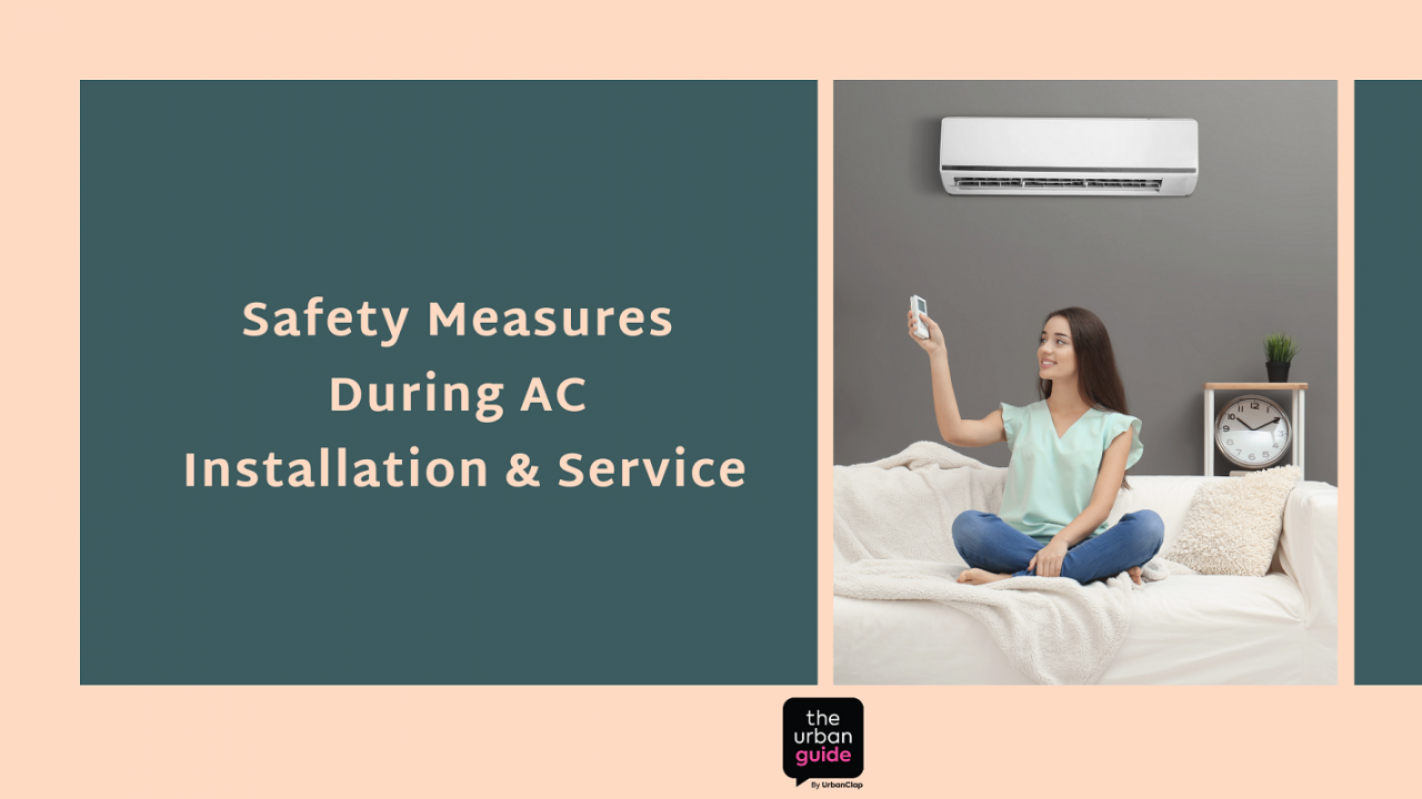 AC Installation safety measures