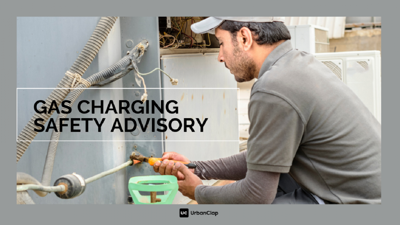 AC Gas Charging Safety Advisory